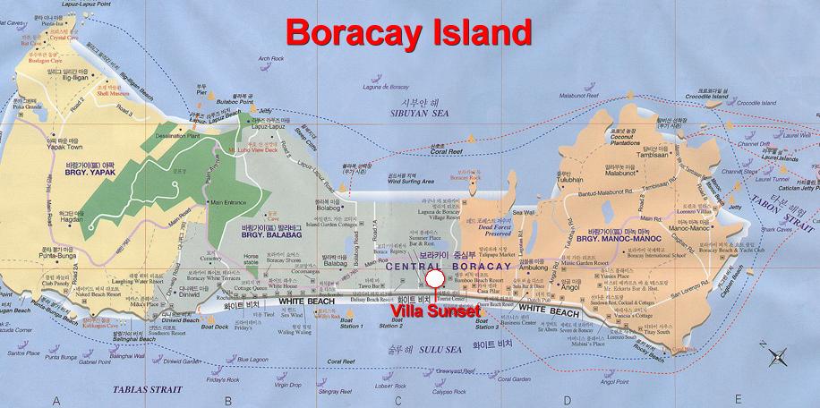 Boracay Island Location Map